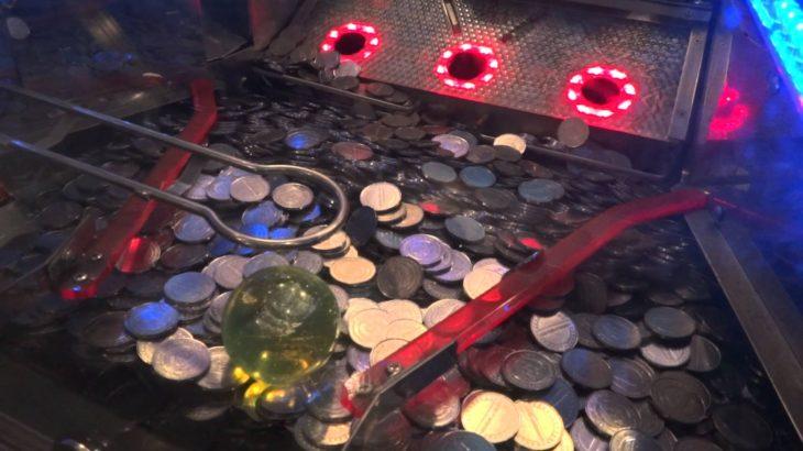 コインゲームで5000枚払い出し中にハプニング発生!?