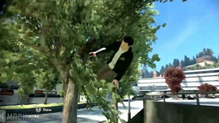 スケート3 ハプニング映像集