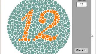 色盲テスト びっくり系フラッシュ
