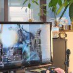 いま楽しいゲームはスカイリムです。 Grandma plays PC game (dragon riding in Skyrim)