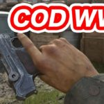 【COD:WW2】ルガーP08で遊ぶ 空挺出てびっくり マック堺ゲーム実況