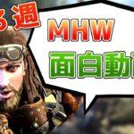 【MHW】モンハンワールド面白動画ハプニング集 第3週「これが本当のハンター定食」