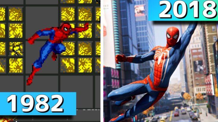 「スパイダーマン」ゲーム 進化の歴史【PS4 Marvel's Spider-Manまで】