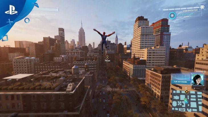 "『Marvel's Spider-Man』 ""ヒーロー""トレーラー"