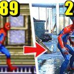 スパイダーマンのゲーム 進化の軌跡 (PS4版までの歴代作品ダイジェスト) [フルHD/60fps]